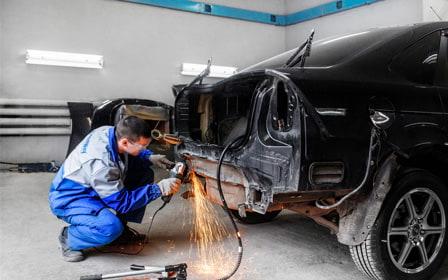фото кузовной ремонт