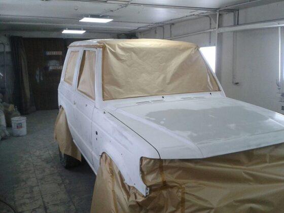 Hyundai полная покраска кузова