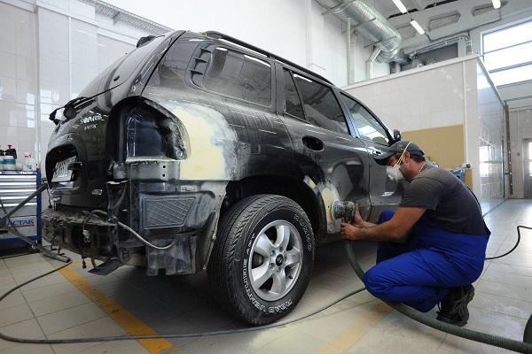 фото локальный кузовной ремонт авто