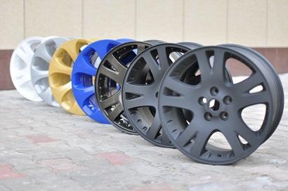 Фото покраски дисков в АвтоцентрПрофи
