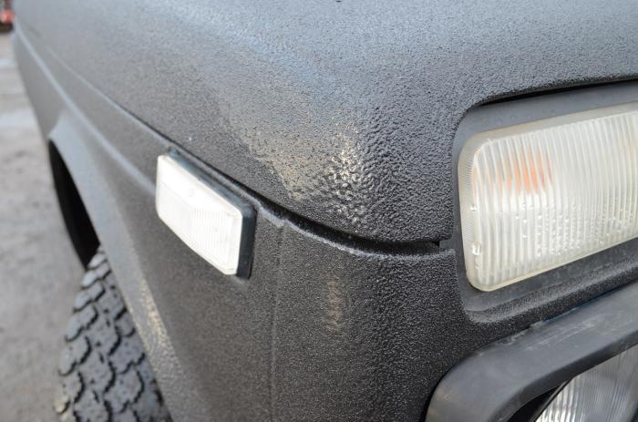 фото покрытие автомобиля раптор