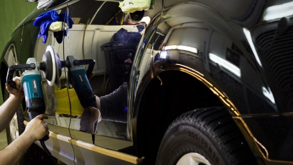 фото защитная полировка авто