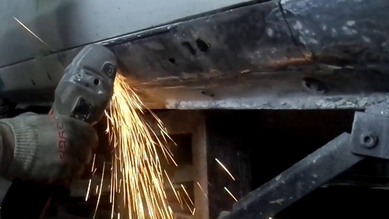 фото ремонт сварных порогов