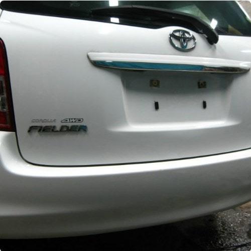 Фото результата ремонт вмятины на крышке багажника