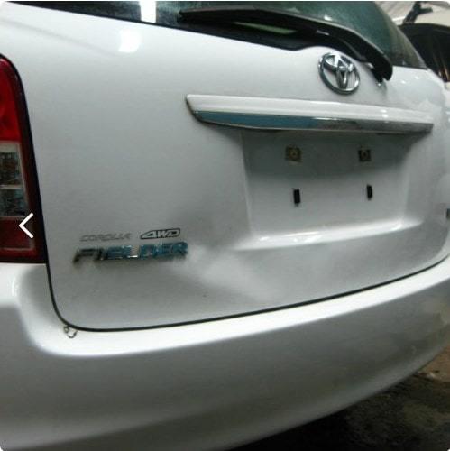 Удаление вмятины на крышке багажника Toyota