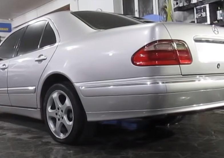 Фото результата кузовного ремонта и покраски Mercedes